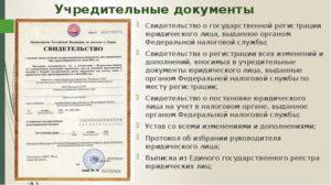 Что является учредительными документами у ИП