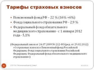 Какие ставки страховых взносов установлены на 2014 год