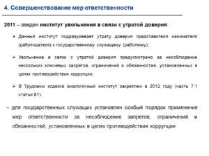 В Кодексе появится новая статья для увольнения: за утрату доверия