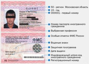 Патент в Московской области в 2018 году