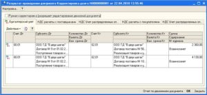 Счета и проводки по зачету взаимных требований