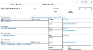 Готовые образцы платежных поручений для предпринимателей на УСН