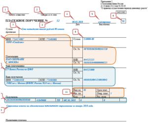 Платежное поручение ИП в ФФОМС по взносам за себя 2016 образец