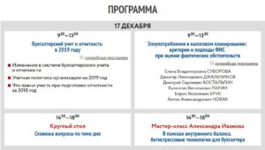 Новое в бухгалтерском и налоговом учете в 2019 году