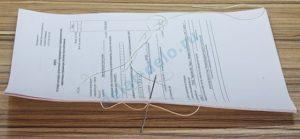 Налоговики определились, как сшивать документы