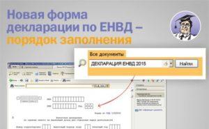 ФНС ответила, по какой форме сдавать декларацию по ЕНВД за 3 квартал: по старой или новой