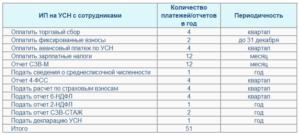 Отчетность ИП на УСН 6%