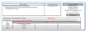Новая отчетность для малого бизнеса ТЗВ-МП: бланк, порядок заполнения