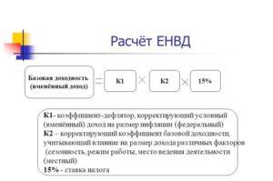 Как компаниям и предпринимателя считать ЕНВД, если коэффициент К2 не установлен