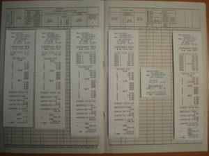 Журналы кассира операциониста и зет отчеты хранение