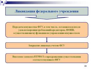 Передача учредителю имущества ликвидируемой организации
