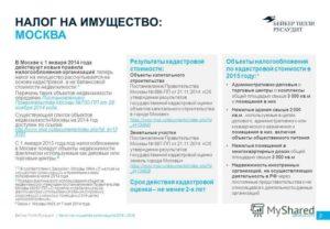 Налог на имущество с помещения в здании, включенного в региональный перечень объектов, облагаемых по кадастровой стоимости