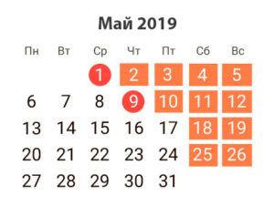 Как отдыхаем 9 мая: официальные выходные