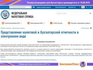 ФНС подтвердила проблемы с приемом отчетов