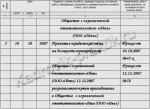 Порядок оформления кадровых документов при реорганизации
