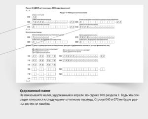 Как заполнить форму 6-НДФЛ при задержках выплаты зарплаты