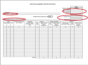 Как выписывать, хранить и уничтожать бланки строгой отчетности при расчетах наличными