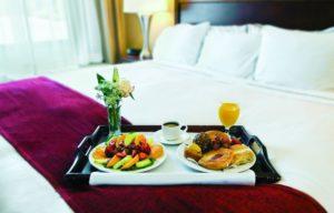 Если завтрак включен в стоимость номера гостиницы