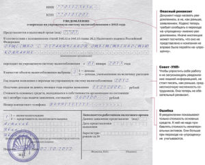 Заявление на УСН при регистрации ООО: бланк и сроки