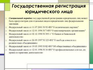 Порядок действия для регистрации нового юридического адреса