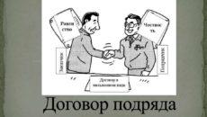 ► Договор подряда