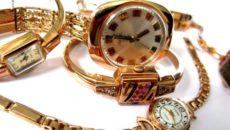 Относятся ли золотые часы к ювелирным изделиям?