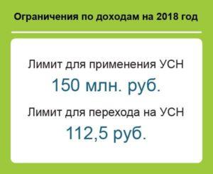 Стали известны лимиты по УСН на 2018 год