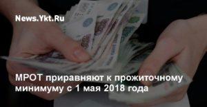 Путин объявил о новом повышении МРОТ с 1 мая 2018 года