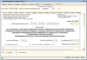 Указываются ли отдельно в отчете РСВ-1 выплаты иностранцам по трудовым договорам?