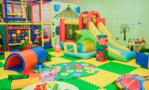 Открытие детской игровой комнаты и какой вид деятельности