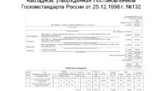 Как заполнить графу 3 в товарной накладной по форме № ТОРГ-12