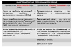 Обособленные подразделения при ЕНВД
