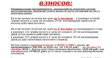 Уплата НДФЛ за работников на ПСН