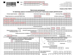 Как заполнить титульный лист декларации по ЕНВД за квартал, в котором ИП подал заявление о закрытии