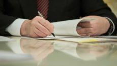 На подписи у Президента закон об отмене деклараций для юрлиц и ИП